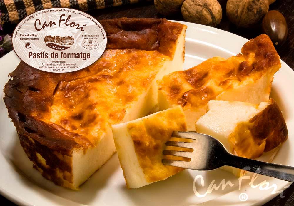 Pastís de formatge artesà